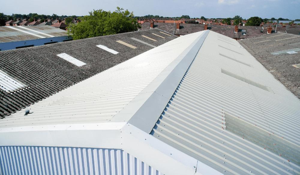 Overcladding roof